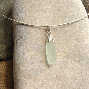 Sea Glass Choker Necklaces