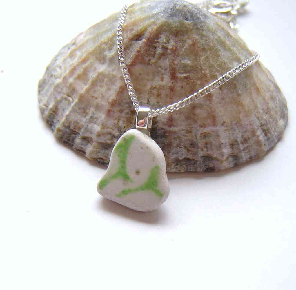 Sea Pottery & Sea Ceramic Necklaces